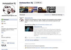 Automotive IQ on Facebook